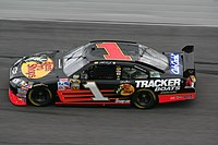 The No. 1 Chevrolet with Martin Truex Jr. driving.