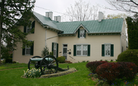 """The Colonel Lewis T. Moore house, which served as the Winchester Headquarters of Lt. Gen. T. J. """"Stonewall"""" Jackson (photo 2007)"""