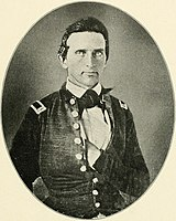 First lieutenant Thomas J. Jackson sometime after West Point graduation in the late 1840s