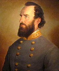 A portrait of Stonewall Jackson (1864, J. W. King) in the National Portrait Gallery
