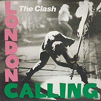 The cover of London Calling.