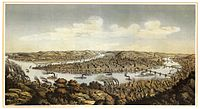 Pittsburgh in 1874, by Otto Krebs