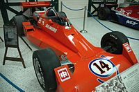 The car Foyt drove to Indy victory in 1977