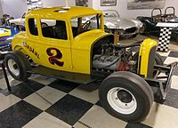 1932 Ford Hardtop raced by A.J Foyt in 1955, California Automobile Museum