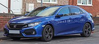 Tenth generation Honda Civic in production from 2016–present