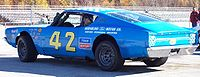 Trickle's 1968 Ford Torino, raced on Wisconsin tracks