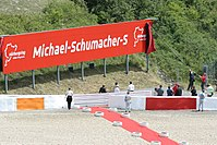 Turns 9–10 of the Nürburgring were renamed after Schumacher in 2007.