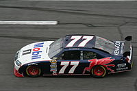 Sam Hornish, Jr. was fastest out of the twelve cars that qualified before qualifying was cancelled.