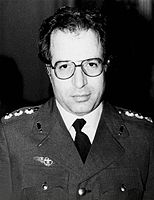 Javad Fakoori, prominent military official and defence minister.