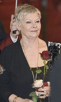 Dench at the premiere of Notes on a Scandal in Berlin in 2007