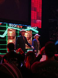 Shawn Michaels feuded with John Bradshaw Layfield in early 2009