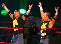 Triple H and Michaels as DX in 2006