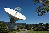 A growing number of Canberrans work in the science and technology sector, such as at the Canberra Deep Space Communication Complex