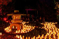 The annual Canberra Nara Candle Festival