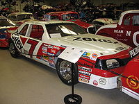Kulwicki's 1988 car, the car he used for his Polish Victory Lap