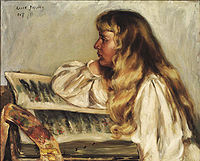 Barney at about age 13, painted by Alice Pike Barney