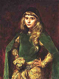 This painting by Carolus-Duran of Barney at age ten hung on the wall of her salon at 20, Rue Jacob.