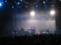 Opeth playing live May 30, 2009