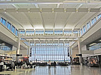 Terminal E at George Bush Intercontinental Airport in Houston