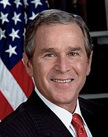 George W. Bush of Texas, 43rd president of the United States