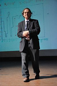 Penrose at a conference