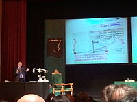 Penrose in the University of Santiago de Compostela to receive the Fonseca Prize