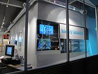The GLBT History Museum in San Francisco on the evening that it opened for previews, Dec 10, 2010.