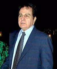 Dilip Kumar (Muhammad Yusuf Khan) in 2010. He was one of the biggest Indian movie stars of the 1950s and 1960s.