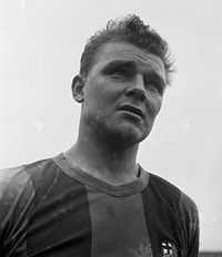 During the 1950s, László Kubala was a leading member of Barcelona scoring 194 goals in 256 appearances.