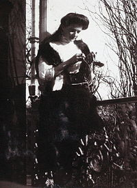 Grand Duchess Tatiana Nikolaevna in about 1911. Courtesy: Beinecke Library.