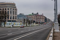 Independence Avenue (Initial part of avenue candidates for inclusion in World Heritage Site).