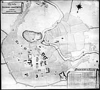 Plan of the city in 1793
