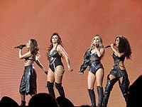 """Little Mix had the first number-one single by a musical group in the 2020s with """"Sweet Melody"""" in January 2021. This was also the group's first number-one following the departure of Jesy Nelson."""