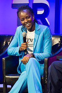 Nyong'o at an event for Time's Up in 2018
