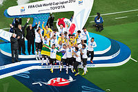 Corinthians won their second world title after defeating Chelsea 1–0 in the final, capping off a year which saw them undefeated in international matches with just four goals conceded.