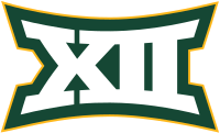 Big 12 logo in Baylor's colors