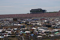 Michigan International Speedway, the race track where the race was held.