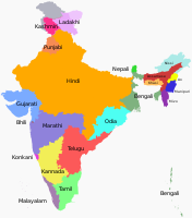 List of languages by number of native speakers in India