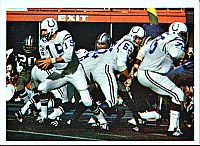 The Colts beat the Cowboys in the first Super Bowl after the AFL–NFL merger (Super Bowl V)