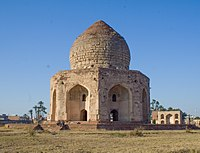 The Tomb of Asif Khan was one of several monuments plundered for its precious building materials during the Sikh period.