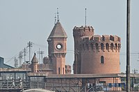 Having been constructed in the immediate aftermath of the 1857 Sepoy Mutiny, the design of the Lahore Railway Station was highly militarised in order to defend the structure from any further potential uprisings against British rule.