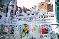 The Neevin Mosque is one of Lahore's few remaining medieval era buildings.