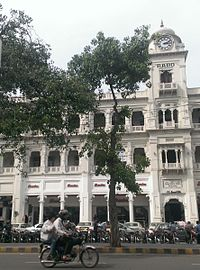 The Mall, Lahore's pre-independence commercial core, features many examples of colonial architecture.