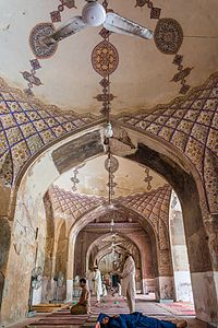 The Begum Shahi Mosque was completed in 1614 in honour of Jahangir's mother, Mariam-uz-Zamani.
