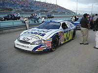 Raines' car before the 2007 Ford 300 at Homestead-Miami