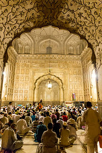 The mosque is heavily used during the Islamic month of Ramadan.