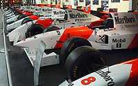 McLaren's Formula One team was sponsored for 23 years by Philip Morris's Marlboro cigarette brand.