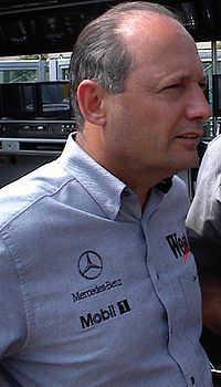 Ron Dennis, here pictured at the 2000 Monaco Grand Prix, was team principal from 1980 to 2009 and was chairman of the McLaren Group until 2017.