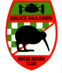 McLaren's original logo was designed by Michael Turner and featured a kiwi bird, a New Zealand icon.