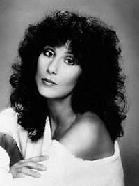 1970s publicity photo of Cher